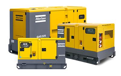 Atlas Copco QAS generators