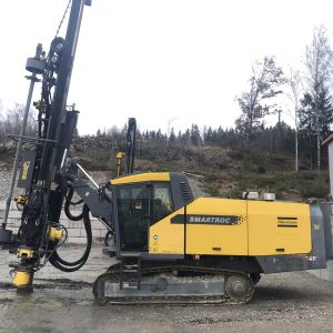 atlas copco smartroc t45 from the left side