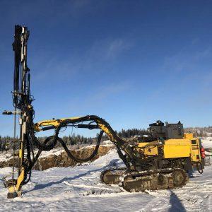 atlas copco roc d3 drill rig